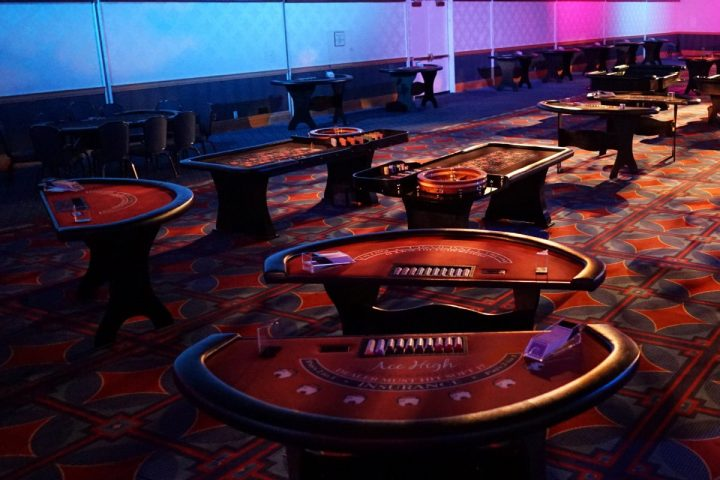 Ace High blackjack casino table rentals