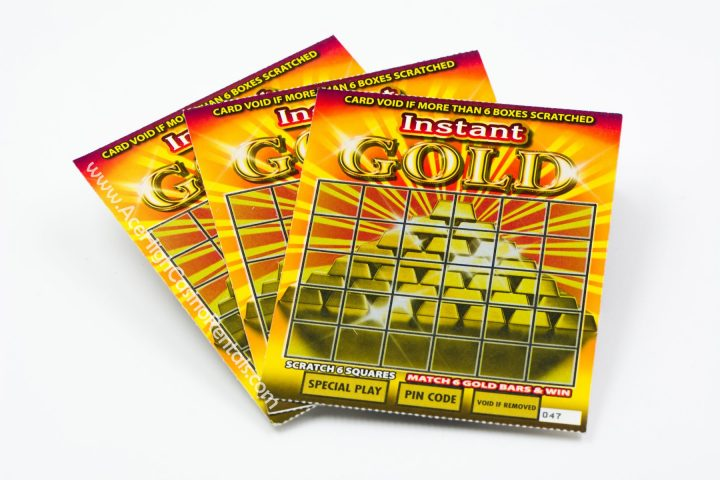 Ace High Casino Rentals instant gold scratchers