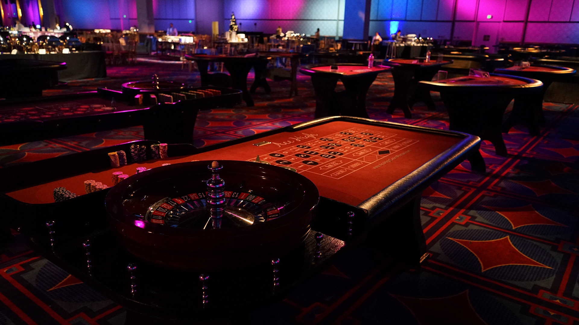 Roulette Table Rentals Ace High Casino Rentals