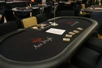 Ace High Casino Rentals - Poker Table