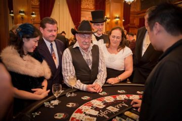 Blackjack with Art Deco Society - Ace High Casino Rentals